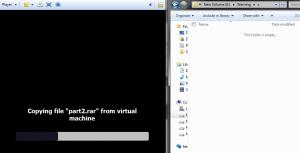 vmware player virtual machine location